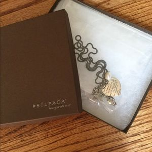 Silpada Heart Charmed Life Necklace (NIB)